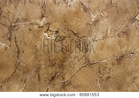 Background - like artificial stone