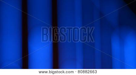 Abstract circular bokeh on dark background.
