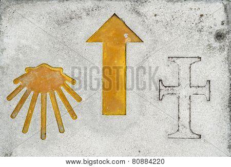 Pilgrimage symbol