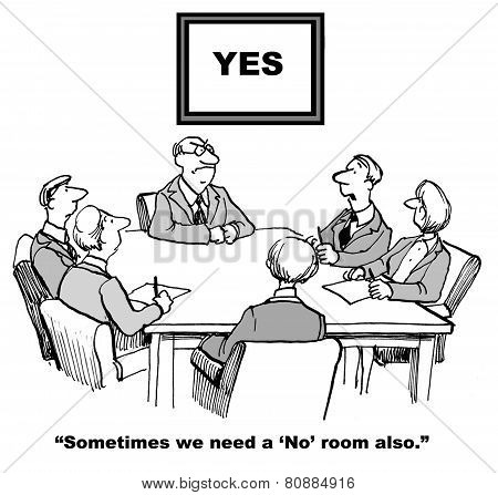 No Meeting Room