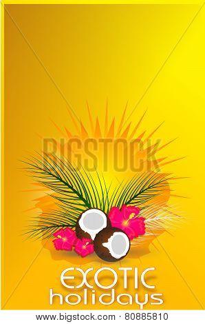 Exotic Holiday Card