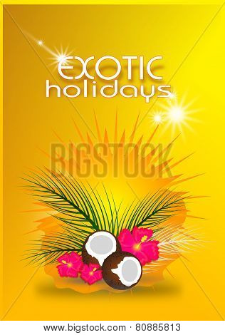 Exotic Holidays Card