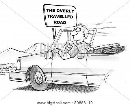 Overly Travelled Road