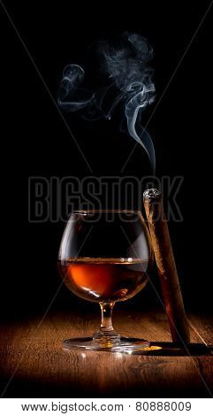 Scotch and cigar
