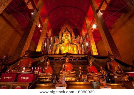 Historical Buddha in Church