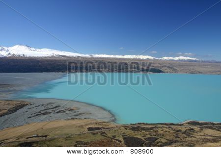 Pukaki River View