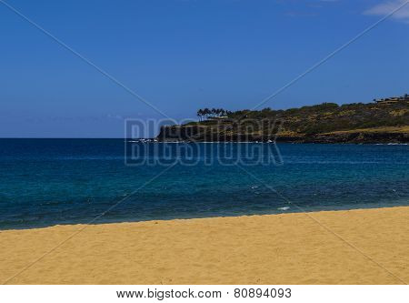 Lanai Sandy Beach