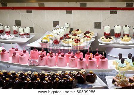 Cakes assortment