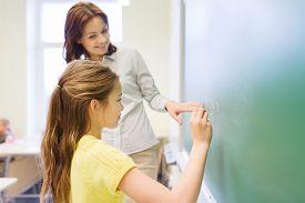 picture of schoolgirl  - education - JPG