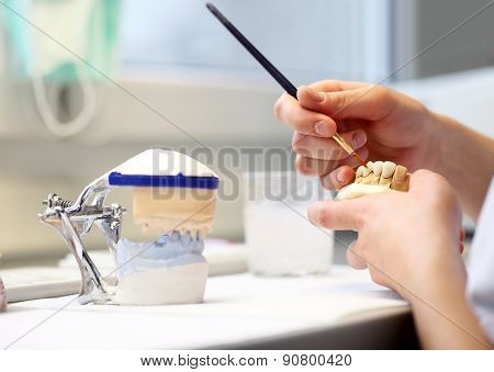 hands working, Dental Dentist Objects