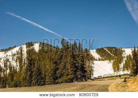 Colorado Rocky Mountains Near Monarch Pass
