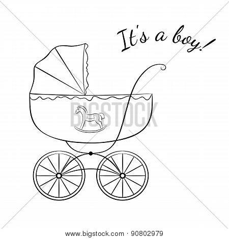Boy Arrival Announcement