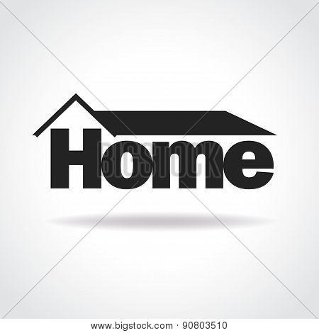 Home Logo Concept Vector
