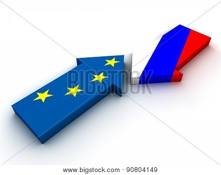 Confrontation Between Russia And European Union