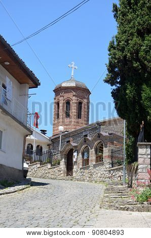 Church in Ohrid, Macedonia