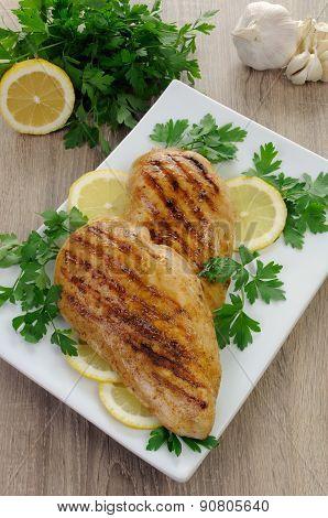 Chicken Breasts Grilled