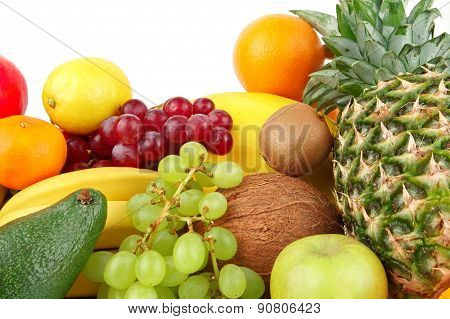 Dietetic Set Of Paleo Diet Of Fruits