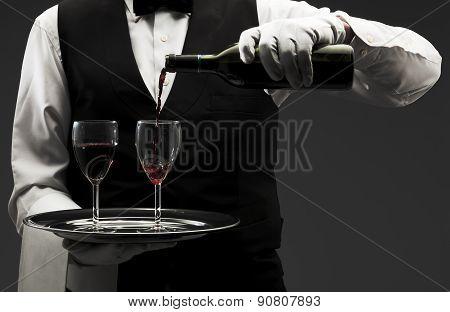 poring wine