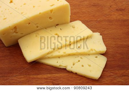 Piece Of Cheese And Slices