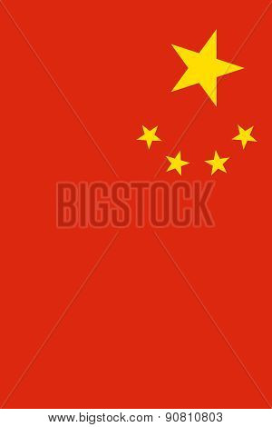 Flag Of The People's Republic Of China Vertical