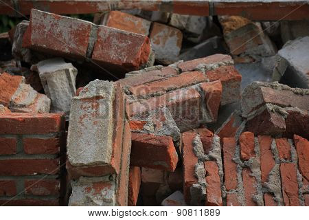 Bricks In A Dumpster