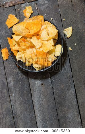Chips On The Plate