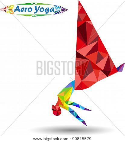 Aero Yoga. Image of triangles