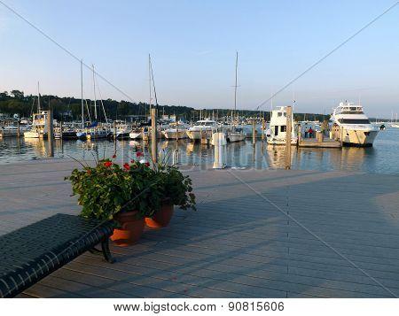Municipal Dock in Harbor Springs