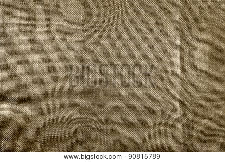 Natural Linen Fabric Texture For The Background