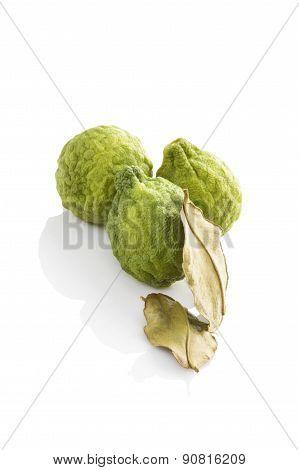 Bergamot Fruit.