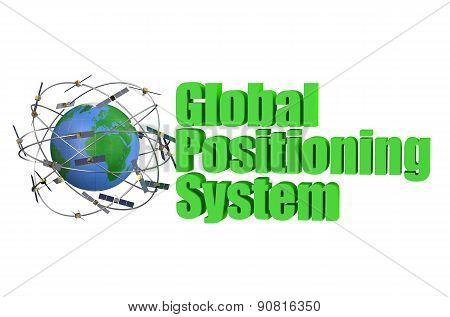 Gps Satellite Concept