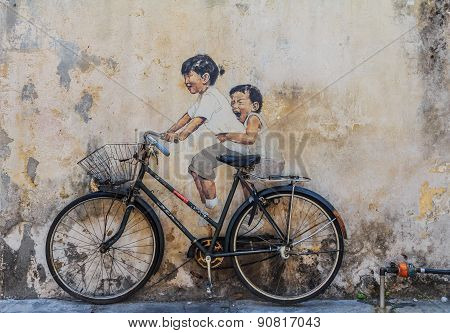 Penang Wall Artwork