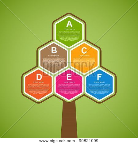 Ecology Business Infographic. Vector Illustration.
