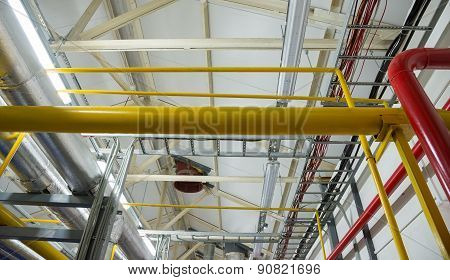 New Pipeline On Ceiling