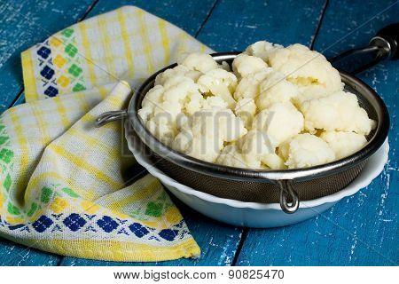 Blanched Cauliflower