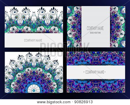 Mandalas Business Card