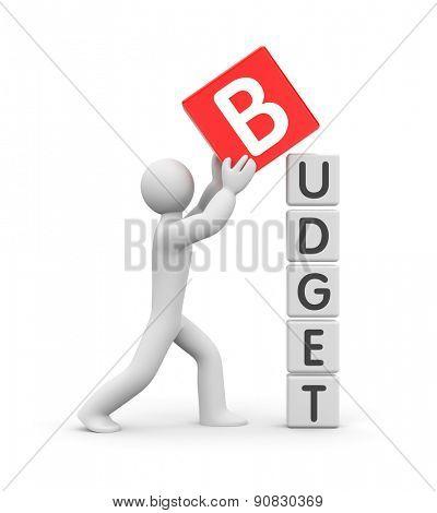 Man builds a budget