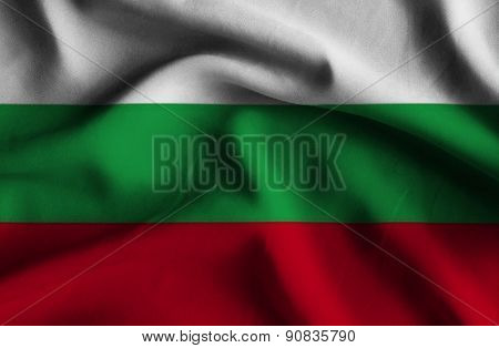 Flag Of Bulgaria.