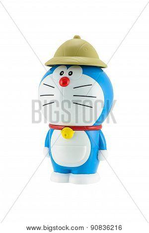 Doraemon A Blue Robot Cat With Brown Hat A Main Protagonist Of Doraemon Japanese Animation Cartoon.