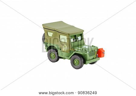 Sarge A 1941 Willys Military Jeep Car.