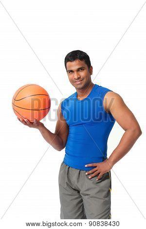 Handsome Basketball Player