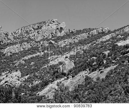 Greece Chelmos mountains Peloponnese