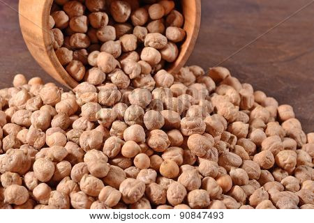 Chick-peas In A Bowl