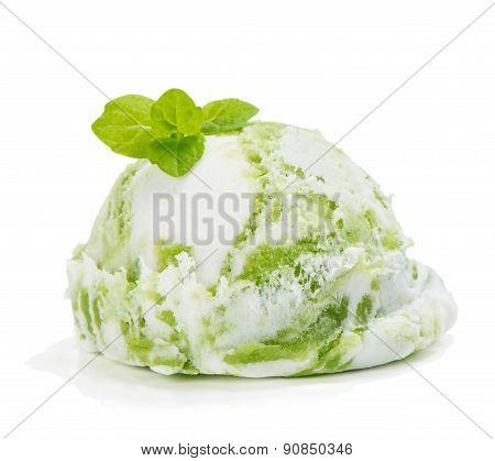 Mint Or Kiwi Ice Cream