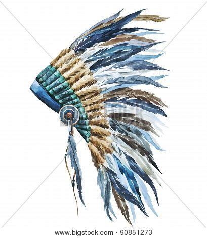 American native hat