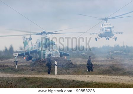 Ukrainian Army Helicopters