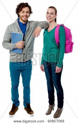 Our First Day To College