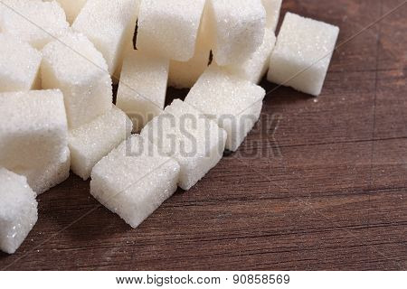 Heap Of Refined Sugar