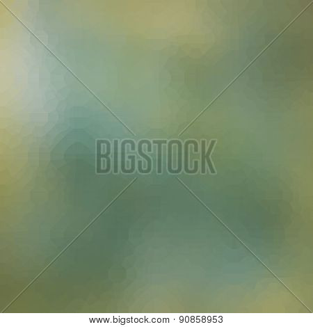 Abstract Cloudy Green Yellow Blue Background