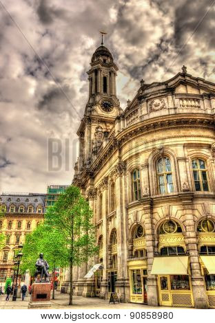 Royal Exchange, A Historic Building In London, England